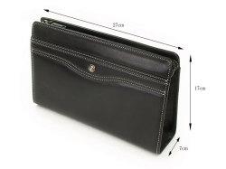 オックスフォード クラッチバッグ セカンドバッグ 「ゴールドファイル」 901206 サイズ