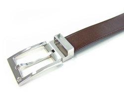 CROWN(クラウン) スムースレザー 30mm幅 ピン式 ベルト 「ゴールドファイル」 GB59513 チョコ 特徴