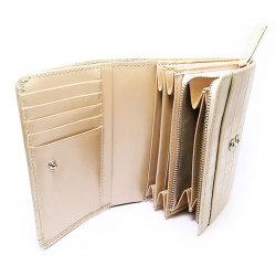 COCCO(コッコ) 二つ折り財布(小銭入れあり) 「ル・プレリー」 NP25110 シャンパンゴールド 特徴