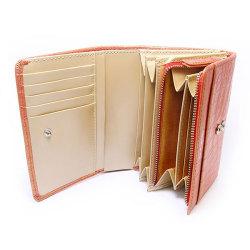 COCCO(コッコ) 二つ折り財布(小銭入れあり) 「ル・プレリー」 NP25110 オレンジ 特徴