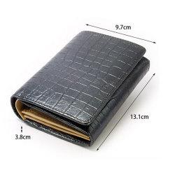 COCCO(コッコ) 二つ折り財布(小銭入れあり) 「ル・プレリー」 NP25110 サイズ