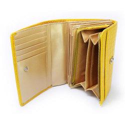 COCCO(コッコ) 二つ折り財布(小銭入れあり) 「ル・プレリー」 NP25110 イエロー 特徴