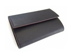 Classico(クラシコ) 三つ折り財布(小銭入れあり) 「プレリーギンザ」 NP57222 クロ 正面