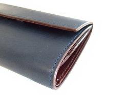 Classico(クラシコ) 三つ折り財布(小銭入れあり) 「プレリーギンザ」 NP57222 コン 側面