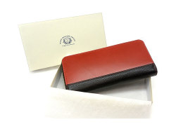 Favor(フェイヴァー) ラウンドファスナー長財布 「プレリートラディショナルファクトリー」 NPF6013 ギフトボックス