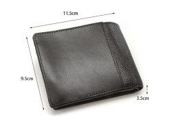 Favor(フェイヴァー) 二つ折り財布(ファスナー小銭入れあり) 「プレリートラディショナルファクトリー」 NPF6212 サイズ