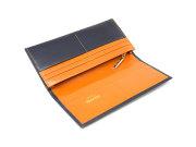 ヘリテージ 長財布(小銭入れあり) 「ゴールドファイル」 GP23022 オレンジ 内作り