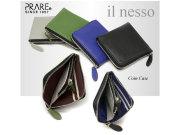 il nesso(イルネッソ)L字ファスナーコンパクト財布(小銭入れ) 「プレリー1957」 NP02575 イメージ画像