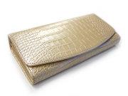 COCCO(コッコ) 長財布(小銭入れあり) 「ル・プレリー」 NP25911 シャンパンゴールド 正面