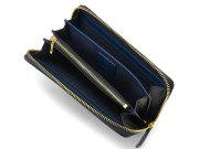 Favor(フェイヴァー) ラウンドファスナー長財布 「プレリートラディショナルファクトリー」 NPF6013 ブルー 内作り