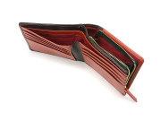 Favor(フェイヴァー) 二つ折り財布(ファスナー小銭入れあり) 「プレリートラディショナルファクトリー」 NPF6212 アカ 特徴