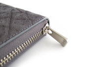 GINZAエレファント ラウンドファスナー長財布 「プレリーギンザ」 NPM1550 グレー 特徴