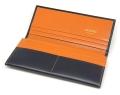 ヘリテージ 長財布 「ゴールドファイル」 GP23022 オレンジ 内作り1