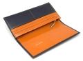 ヘリテージ 長財布 「ゴールドファイル」 GP23022 オレンジ 内作り2