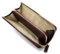 オックスフォード 長財布(L字ファスナー) 「ゴールドファイル」 GP11828 バーガンディ 内作り
