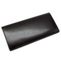 ヘリテージ 長財布 「ゴールドファイル」 GP23022 ブラック 正面