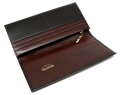 ヘリテージ 長財布 「ゴールドファイル」 GP23022 ブラック 内作り2