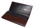 ヘリテージ 長財布 「ゴールドファイル」 GP23022 バーガンディ 内作り1