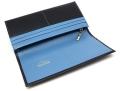 ヘリテージ 長財布 「ゴールドファイル」 GP23022 ネイビー 内作り2