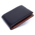コードバン 二つ折り財布(小銭入れなし) 「プレリー1957」 NP07316 コン 正面